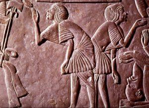 Horemhab's Tomb in Saqqara (credits: Rijksmuseum van Oudheden)