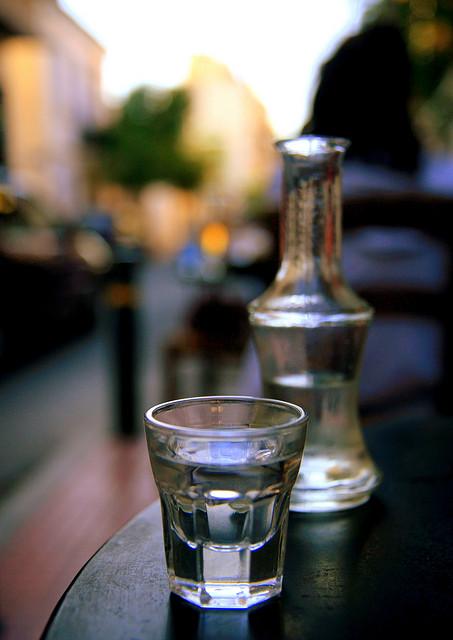 Turkish aniseed liqueur, raki (credits: Evan Blaser http://bit.ly/1Ad2dNC)